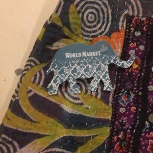 Cost Plus World Market Bags - World Market Bucket Bag- New